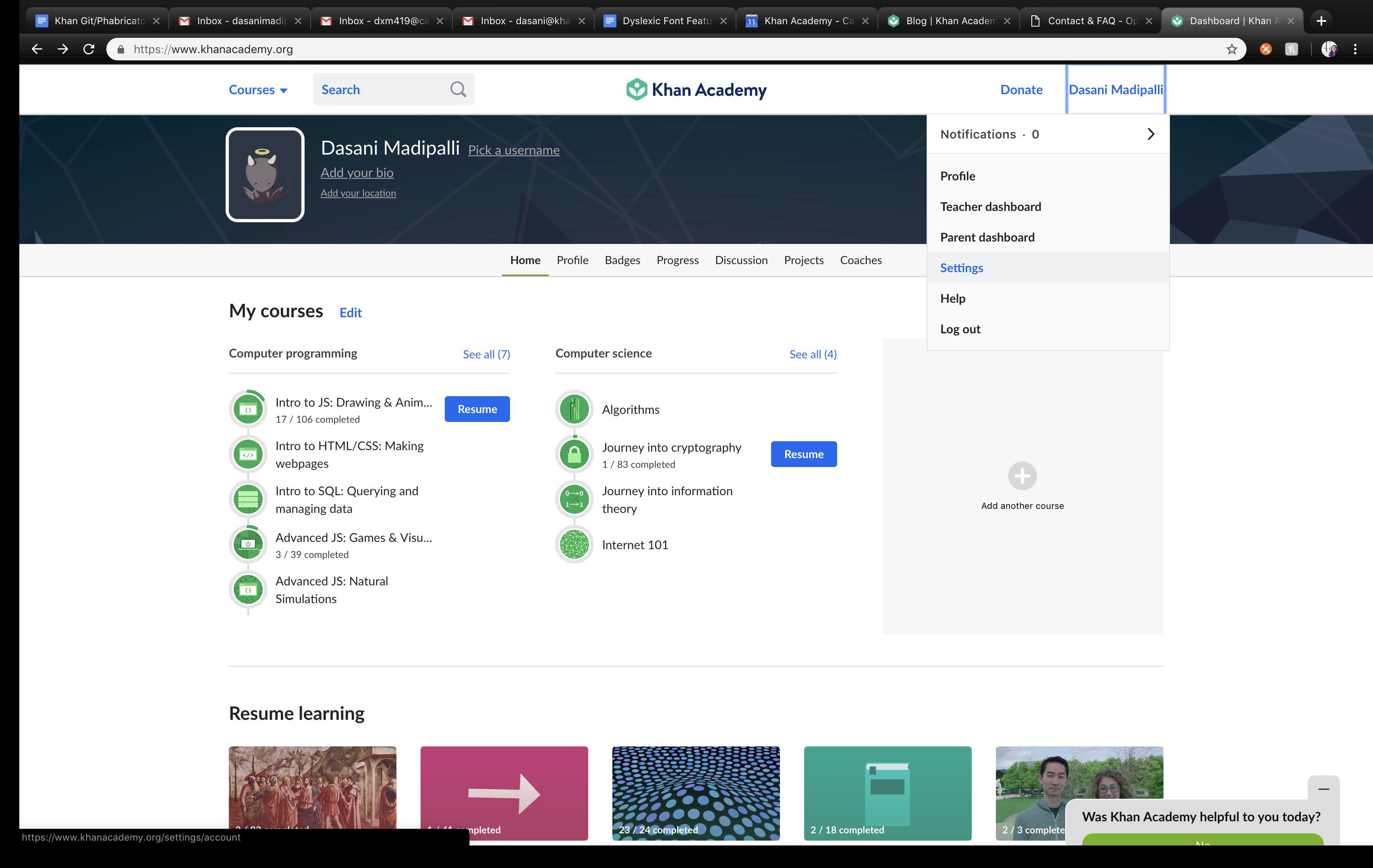 Khan Academy Engineer Screenshot - Disun